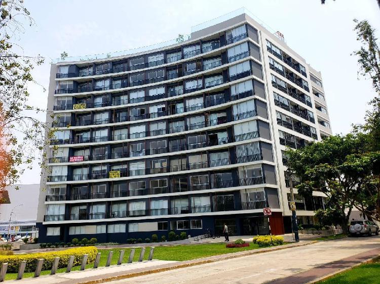 Alquiler departamento distrito de san isidro 45 m² full