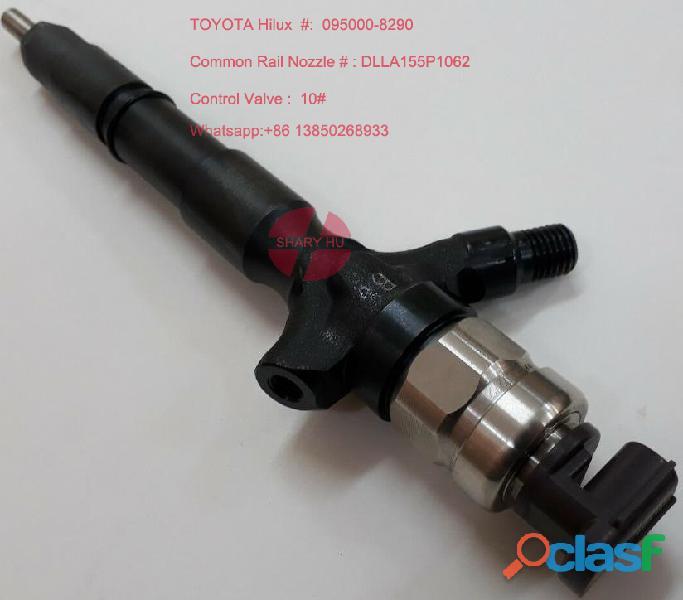 Fuel pump vs fuel injector 095000 8290 23670 0l050 toyota common rail injector