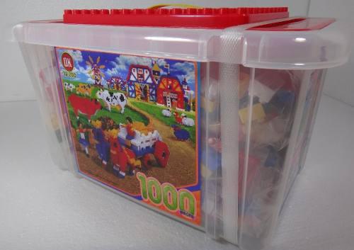 Bloques didácticos armables genérico de 1000 piezas niños