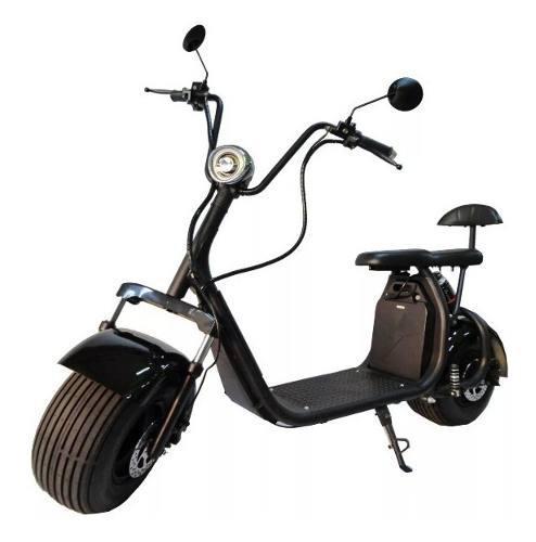 Moto scooter eléctrico doble suspensión + casco