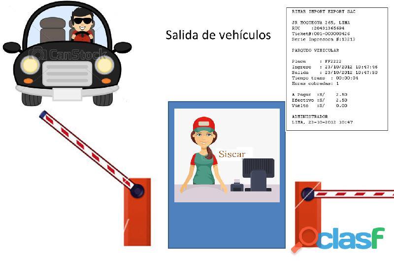 Siscar, software para gestión de playas de estacionamiento con facturación electrónica