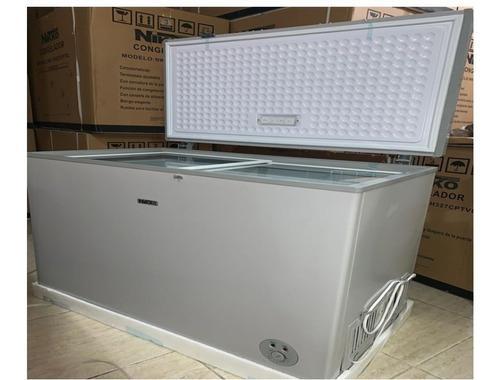 Congeladora horizontal nikko 327 lt original nueva