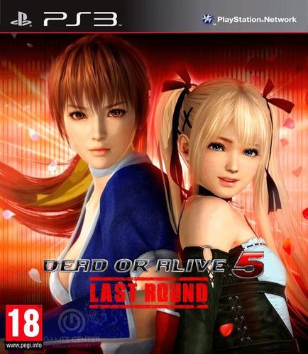 Dead or alive 5 last round ps3 digital gcp