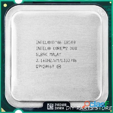 Procesadores core2duo core 2 duo e8500 3.16 ghz 6mb 1333 bus como nuevo