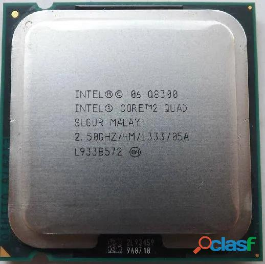 Procesador core 2 quad real de 2.50 ghz, bus de 1333, 4 mb de caché (q8300). 100% operativo.