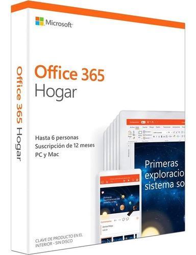 Microsoft Office 365 Hogar - Licencia Compartida 1 Año
