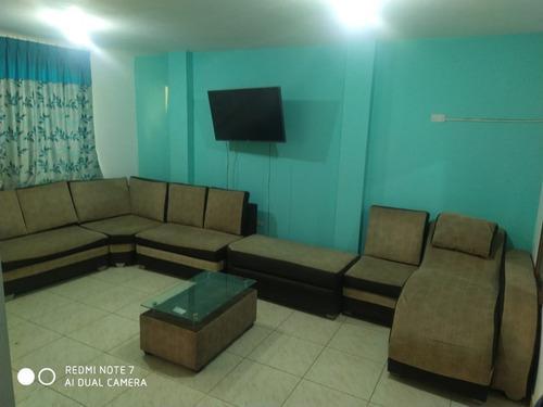 Muebles de sala 6 cuerpos y mesita centro