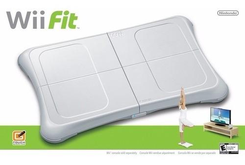 Wii fit - wii balance board + juego original wii y wii u