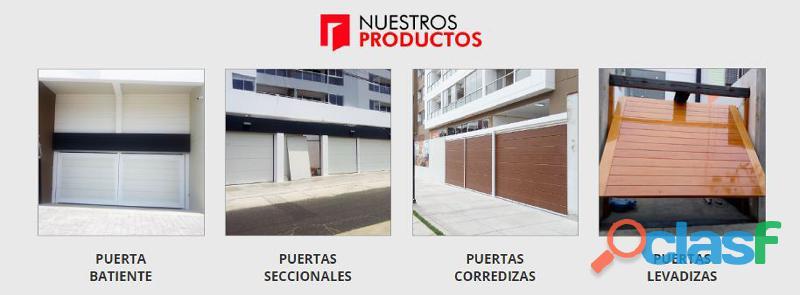 Puertas Seccional Lima   Perú 1