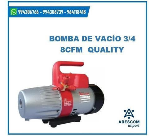 Bomba De Vacio 3/4 Hp 8cfm