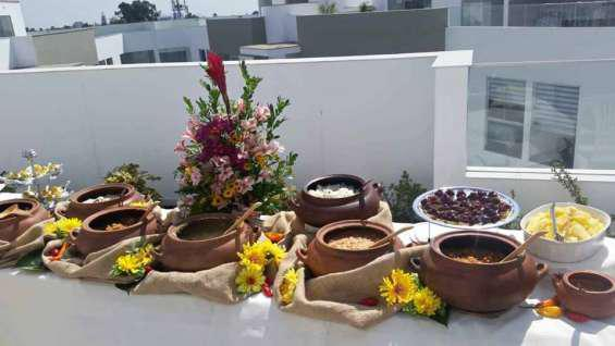 Buffet cumpleaños empresas ana en Lima