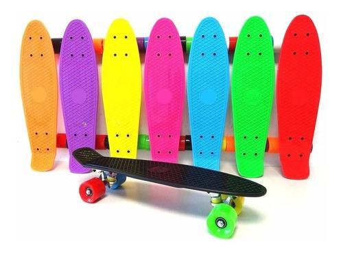 Skateboard Penny O Patin Con Luces 27 Pulg. + Mochila