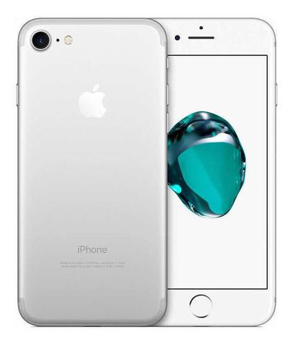 iPhone 7 32gb Color Plata Con Accesorios