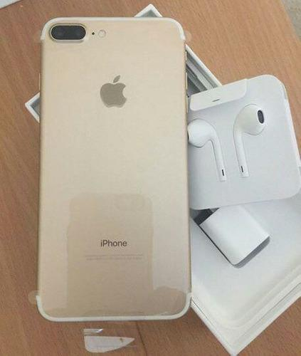 iPhone 7 Plus 128gb Dorado Libre 4g Lte Accesorios Gold