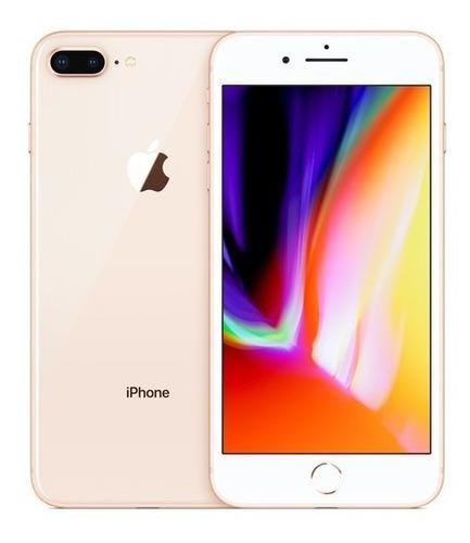 iPhone 8 Plus 256 Gb Gold Libre + Accesorios Orig + Case