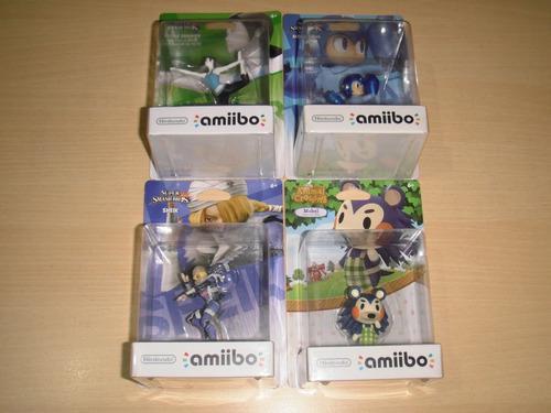 Amiibos (primera Edicion Nuevos Sellados)