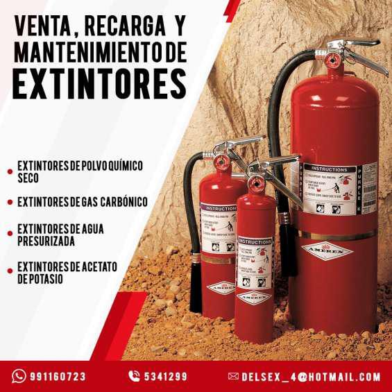 Extintores lima, fumigación integral, artículos epp
