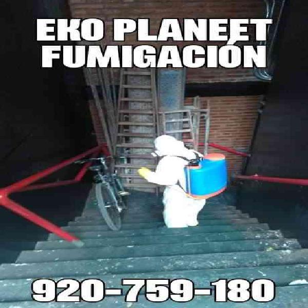 Fumigacion eko planeet lima,garantia total 7822456 en Lima