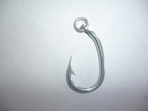 Anzuelos pesca japón acero al carbono 3x1 sol 5cmm x 4mm