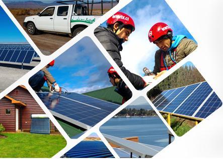Equipo solar en Lima