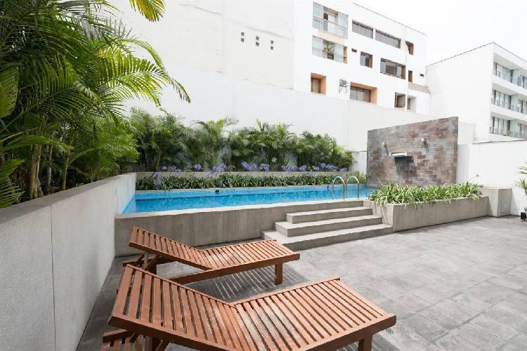 Esplendido flat en barranco - 100 m² - 2 hab - 120 m² -