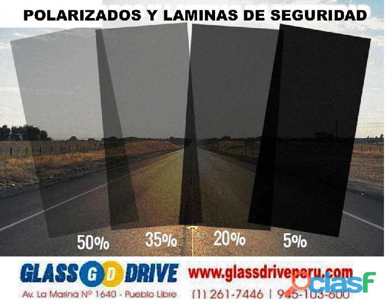 Polarizados parabrisas automotrices lima pueblo libre laminas de seguridad glassdrive
