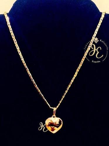 Cadena oro ley 18k collar mujer mónaco condije cd_85