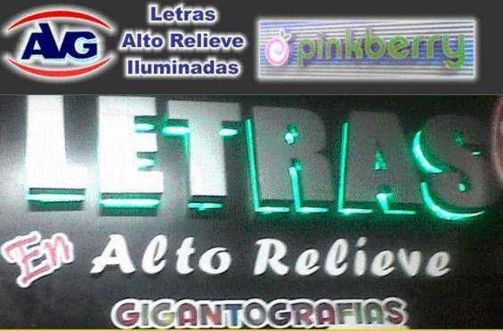 Letreros luminosos publicidad exterior en lima perú, logos,