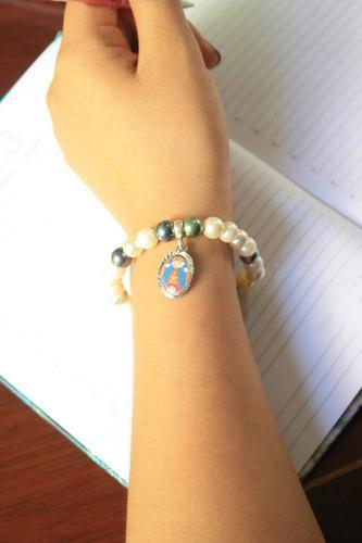 Pulsera Strech Lupita - Perlas A1 - Plis Cuida A Mis Amigos