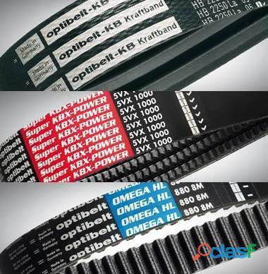 Fajas /correas en v, de transmisión y sincronizadas importadas