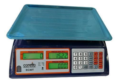 Balanza Digital Coretto De 30kg Nuevo Modelo Garantia Tienda