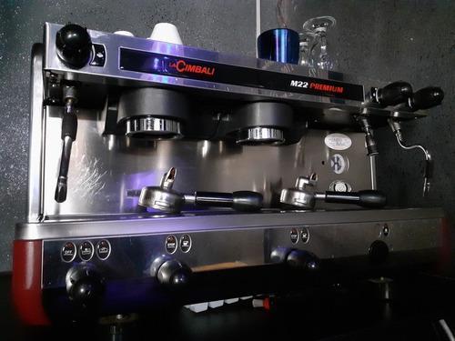 Maquina de cafe cimbali m22 premium italiana perfecta