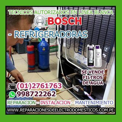 Servicio tecnico ×bosch× refrigeradoras -998722262 lima