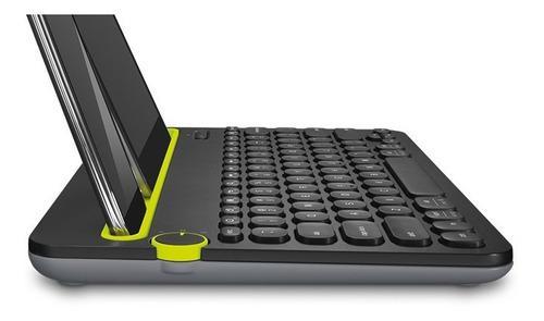 Teclado bluetooth k480 tablet pc smartphone logitech originl