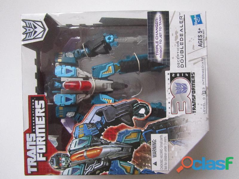 Transformers doubledealer 3 transformaciones