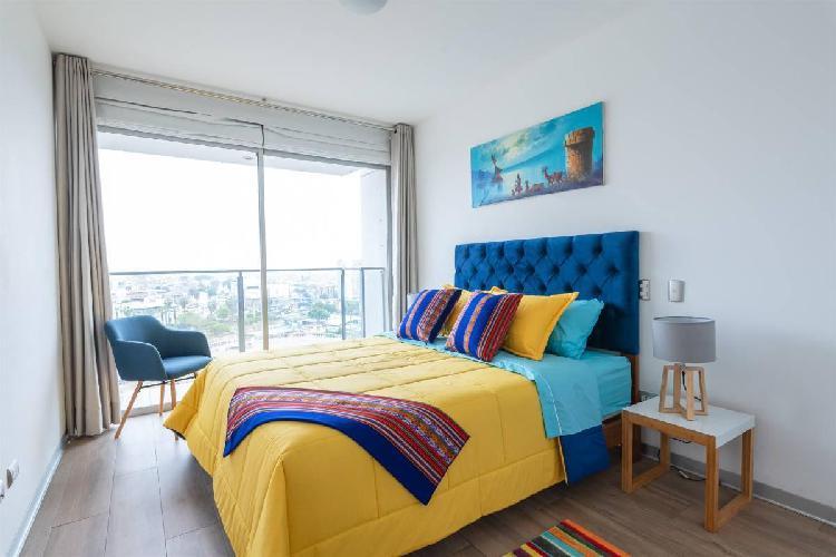 180 m² 4 hab. dpto vista al mar/naturaleza. cochera 4 dorm.