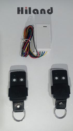 Control Remoto Y Receptor Para Puertas De Cualquier Marca