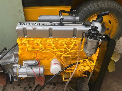 Motor nissan ld28 6 cilindros + caja