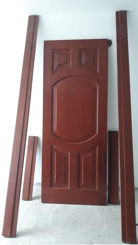Puerta Fina Interior De Caoba