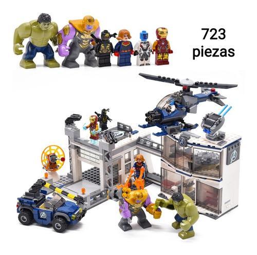 Minifiguras Lego Set Avengers Endgame Juego Final