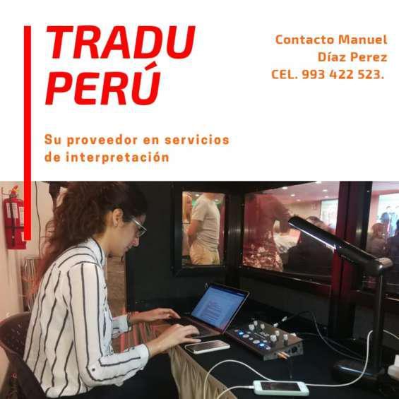 Alquiler de equipos de traducción simultánea 993422523 en