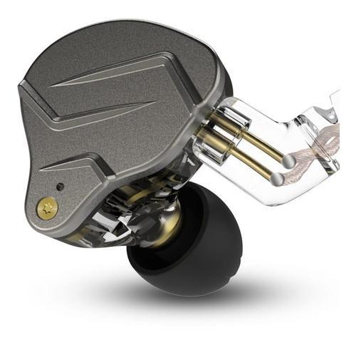 Kz zsn pro audífonos hi-fi hibrido con mic