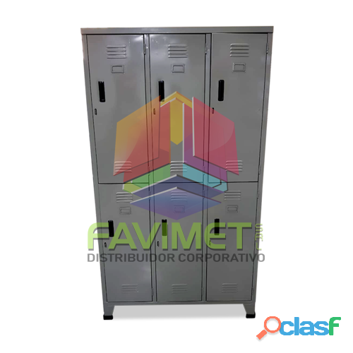 Lockers metalicos favimet