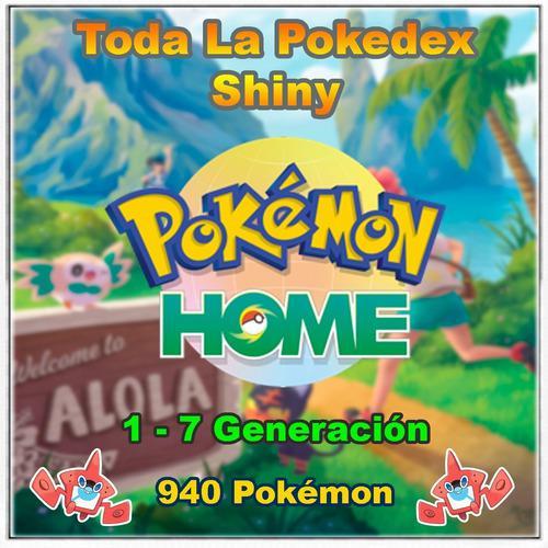 Pokémon Home Competitivos 1 A 7 Gen Pokedex Compl.