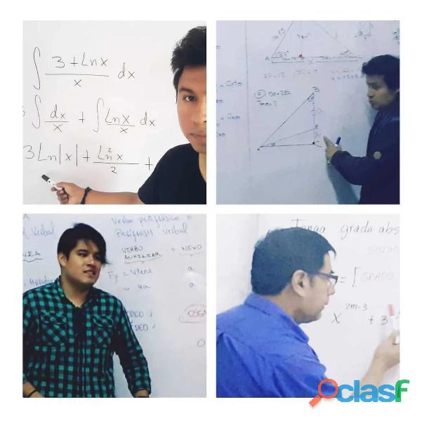 clases online de matematicas, fisica, quimica 1