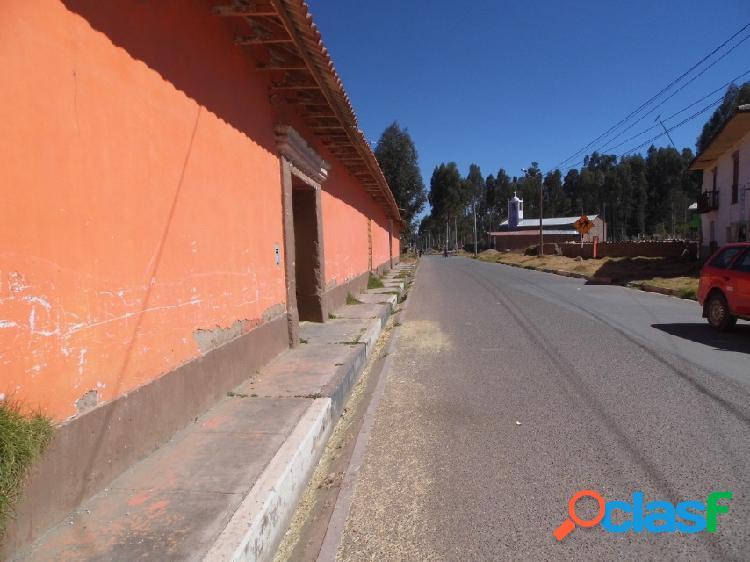Venta de terreno residencial en concepcion - huancayo