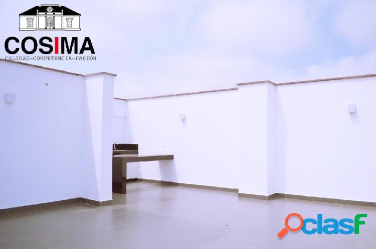 Dpto 2 dorm 1er piso con terraza cerca plaza vea de higuereta surco