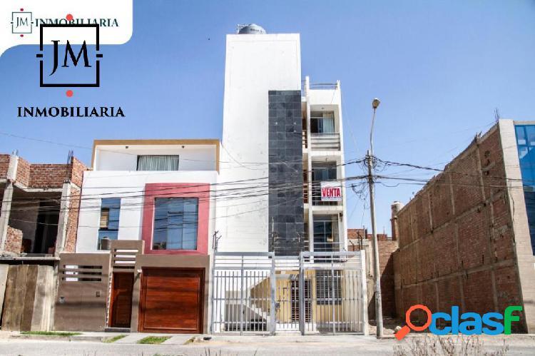 En venta departamento 1° piso - urb. monterrico