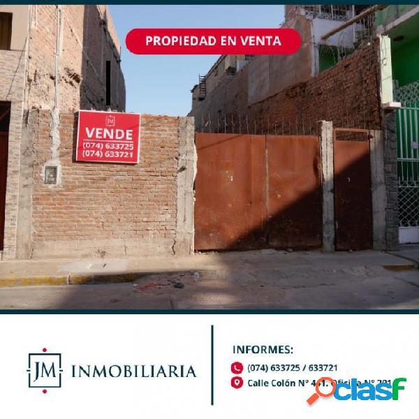 Vendo terreno comercial - calle torres paz - centro de chiclayo.