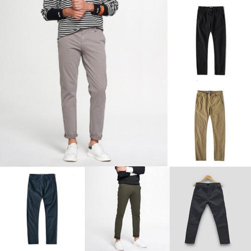 Pantalones Dril Slim Fit Entallado Para Hombres Semipitillo En Lima Clasf Moda Y Accesorios